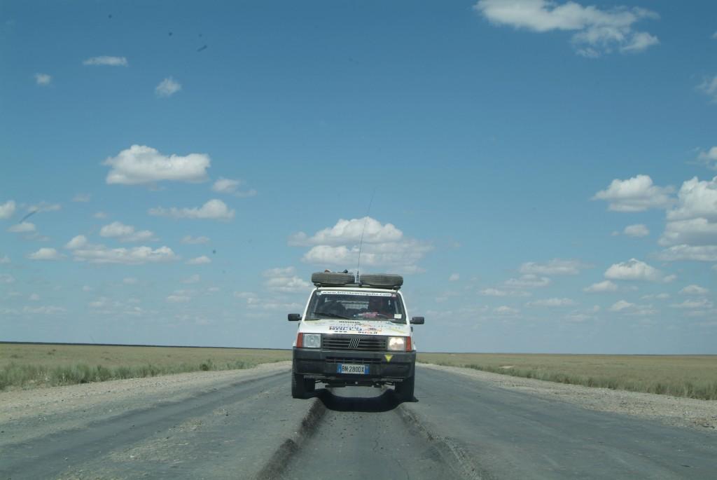 Tipica autostrada kazaka 1